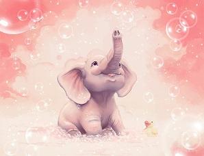 Cum a invatat elefantul sa nu isi mai supere burtica